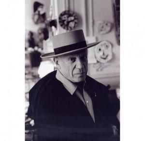 SCATTI DI DUNCAN A PICASSO - David Douglas Duncan, Picasso, Francia, seconda metà degli anni ?50
