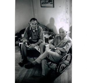 SCATTI DI DUNCAN A PICASSO - David Douglas Duncan e Picasso, Francia, seconda metà degli anni ?50