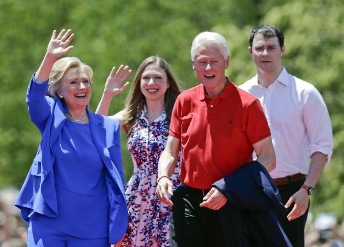 Hillary Rodham Clinton, Bill Clinton, Chelsea Clinton, Marc