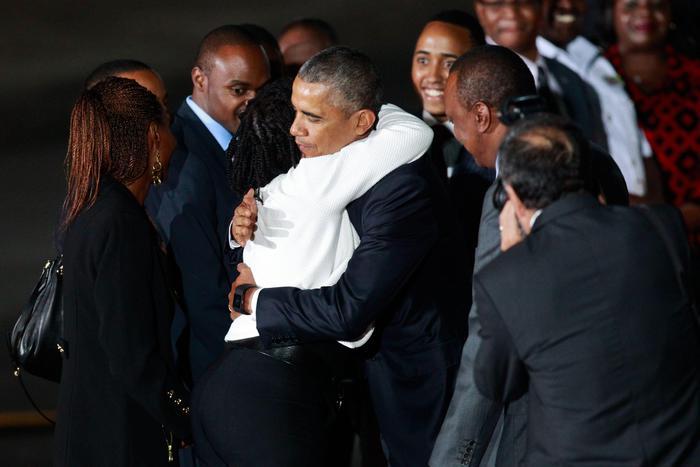 US President Barack Obama in Kenya