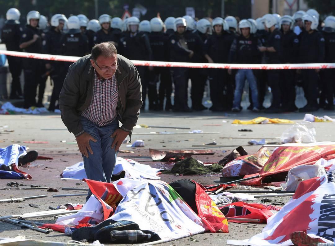 Ankara dopo le esplosioni