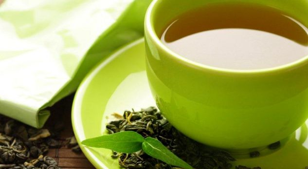 Çaji i gjelbër ndikon në parandalimin e kancerit të mëlçisë Green-tea1